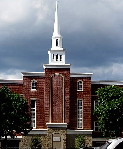 Mormon Stake Center in Cambridge